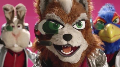 Star Fox Puppets