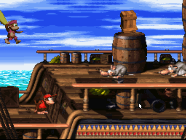 Donkey Kong Country 2 Diddy's Kong Quest SNES
