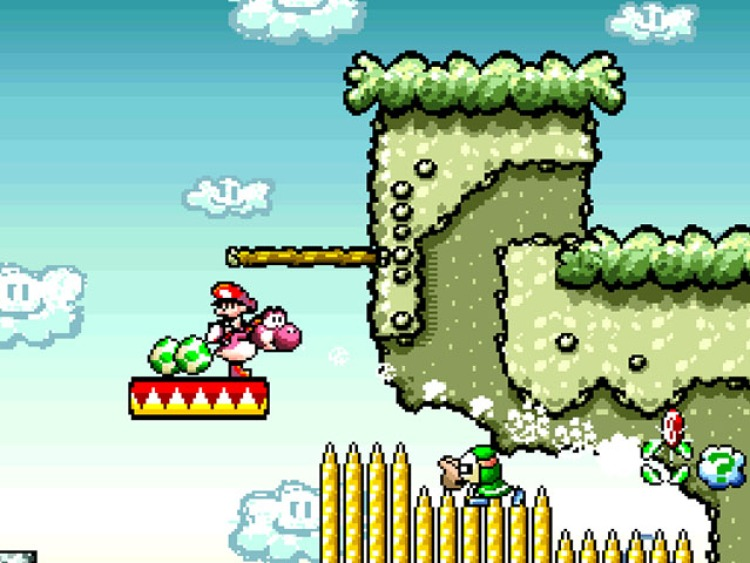 super mario world 2 yoshis island super nintendo