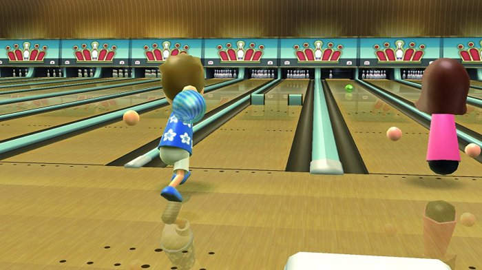 Wii Sports Resort Bowling - Wii