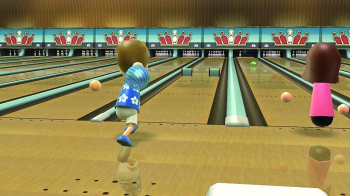 Wii Sports Resort Bowling - Wii