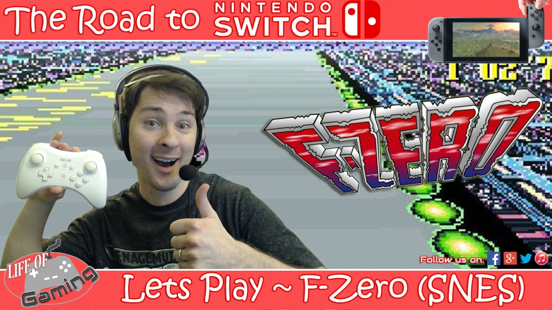 Lets Play F-Zero SNES