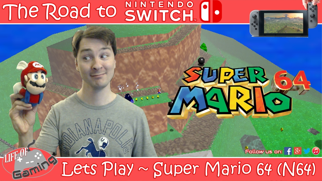 Lets Play Super Mario 64 Nintendo 64